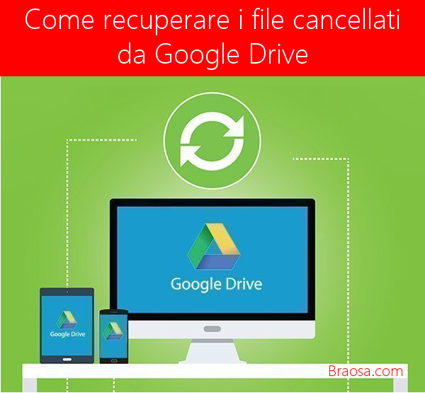 Come recuperare i file eliminati da Google Drive