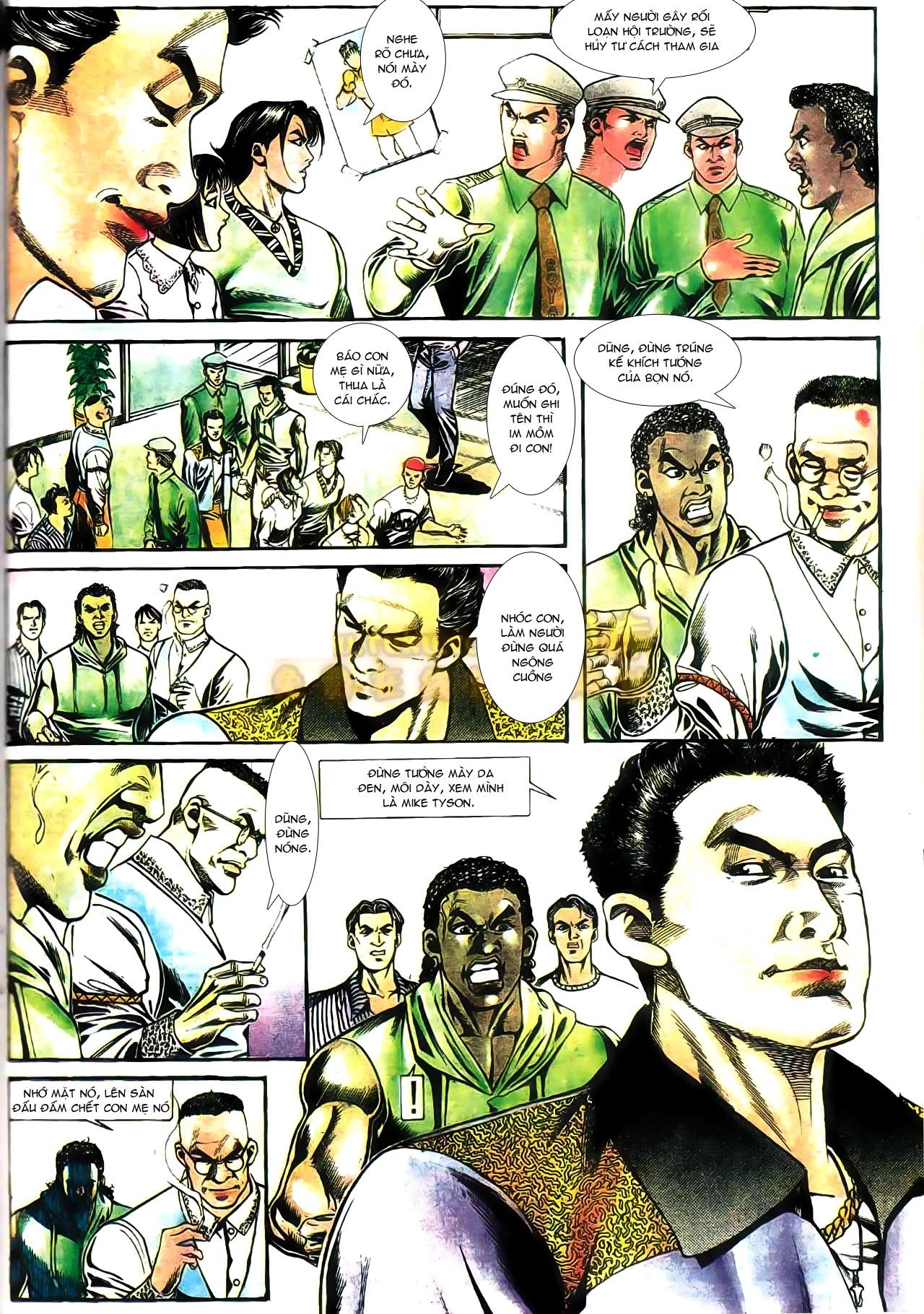 Người Trong Giang Hồ chapter 165: phong thái ngưu cô trang 22