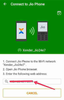 jio keypad mobile ko android mobile se xender se connect kaise kare