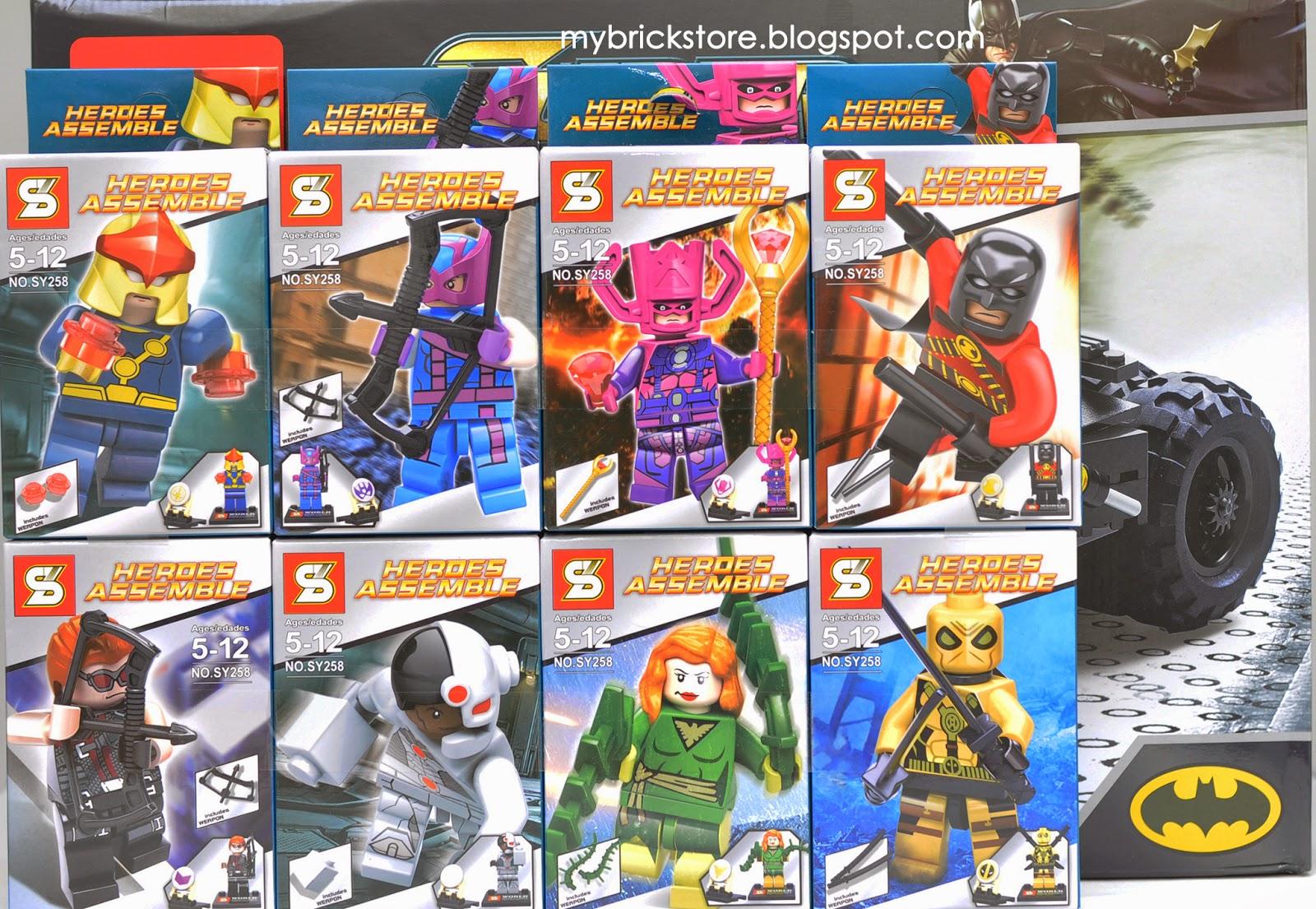 My Brick Store: Decool 7105 Lego Batman Tumbler