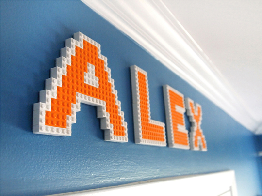 Nursery Notations New Takes On Wall Letters