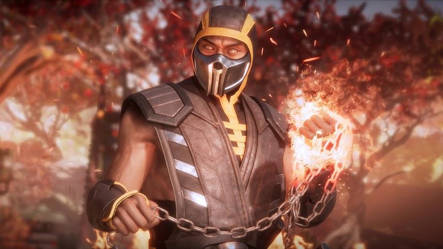 Scorpion Mortal Kombat 11 4k Wallpaper 342