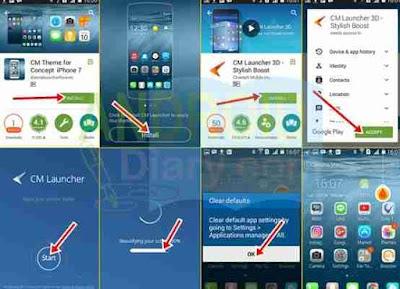 Meskipun tampilan Android yang sudah ada dalam kesempurnaan Ubah Tampilan Android Anda Mirip iPhone dengan Aplikasi Android