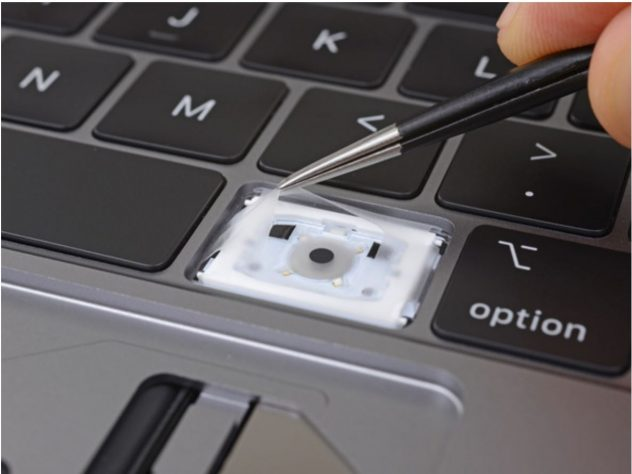 2018 MacBook Pro Uses Silicone To Protect Keyboard From Dust