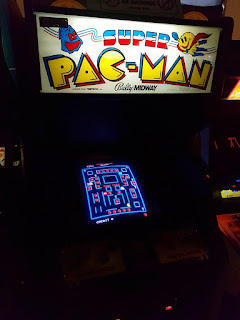 Super Pac-Man at Arcade Club in Bury
