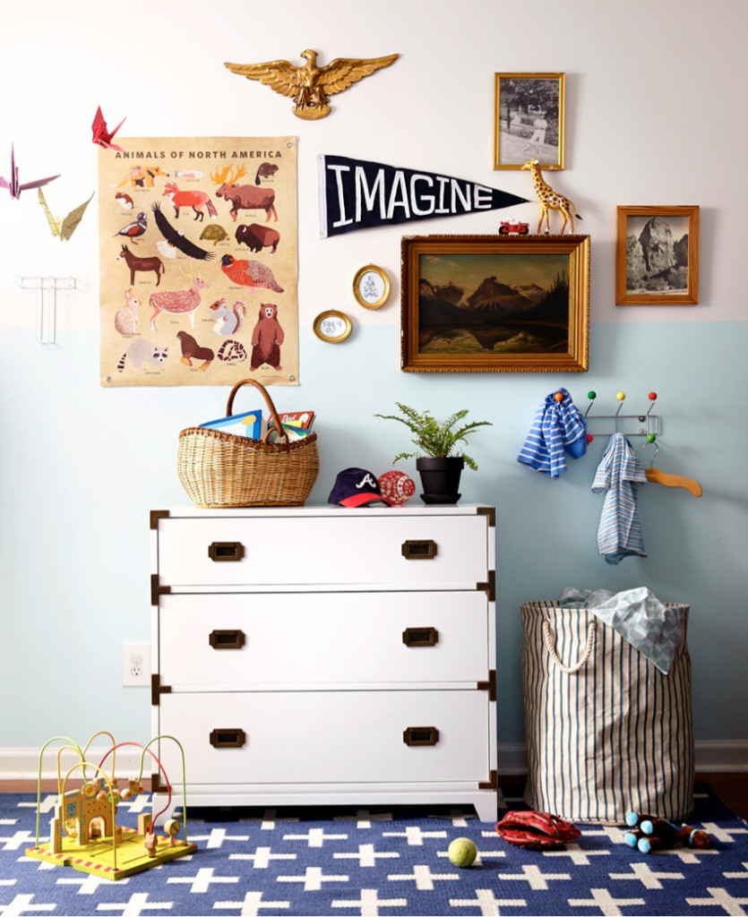 This Entire Nursery Is So Much Fun I Already Own A Campaign Chest Just Need To Paint It White Check Out The Rest Of Photos Here