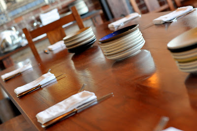 Table at Zuzu in Napa, CA - Photo by Taste As You Go