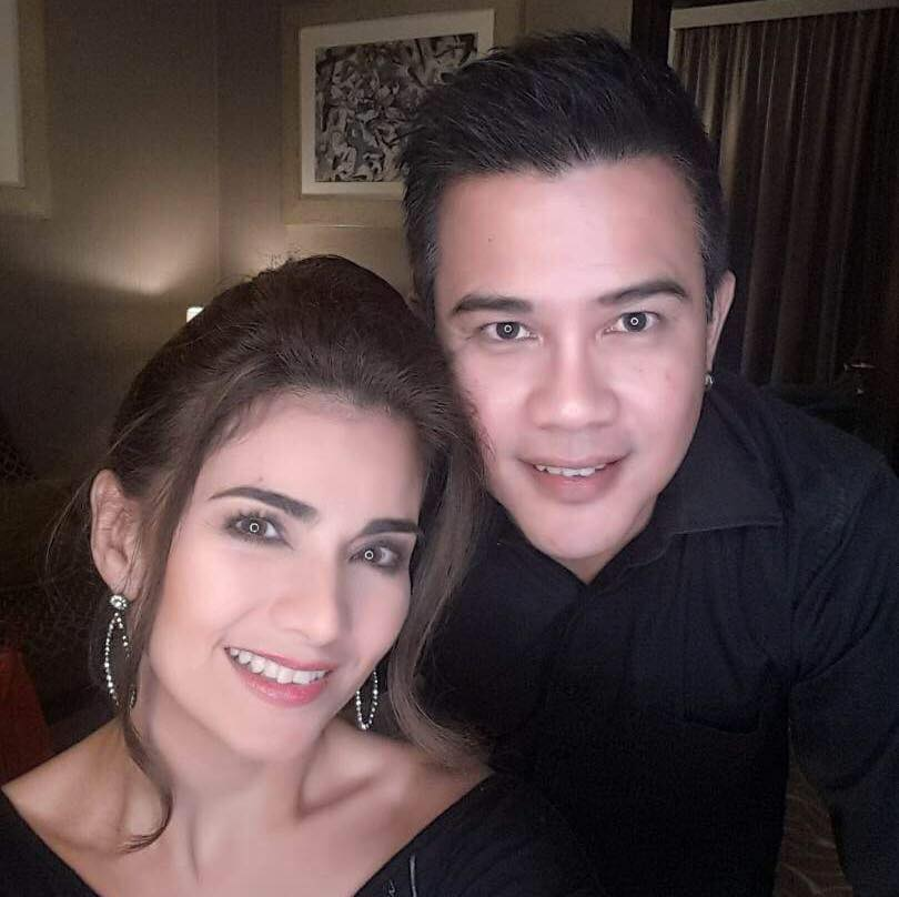 Isabel Granada's husband bids a tearful goodbye