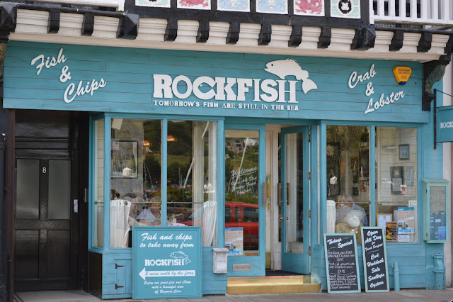 Rock Fish chippy in Dartmouth