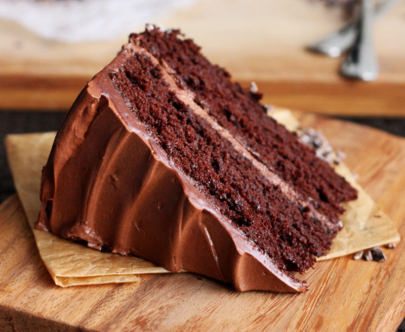 Scientifically Sweet Ultimate Double Dark Chocolate Cake