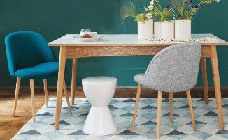 sillas con mesa