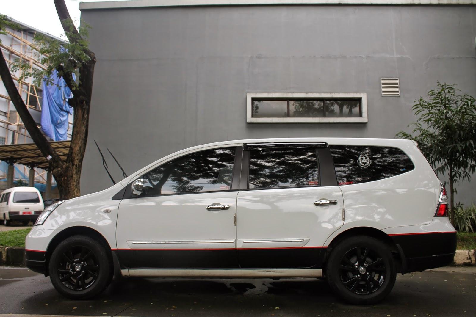 Kumpulan gambar cutting sticker mobil grand livina