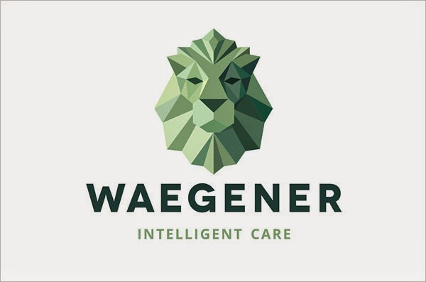Kumpulan Desain Logo Low Poly - Weagener Social Project Low Polygon Logo