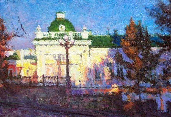 Талантливый российский художник. Сергей Прохоров