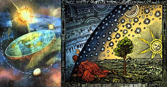 Teoria da Terra plana ganha força na internet - Sol e Lua bem próximos da Terra
