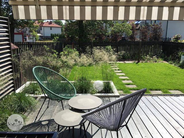 nowoczesny_maly_ogrod projekty, projektowanie