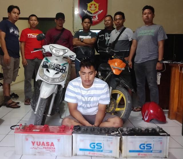 Curi Aki Mobil  di 33 TKP, Pemuda Lorong PGRI di Ciduk Tim Kalong