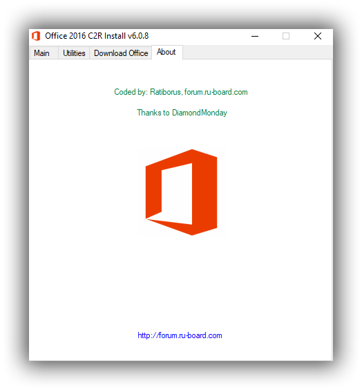 Office 2013-2016-2019 C2R Install 6.0.8 - Portable Program