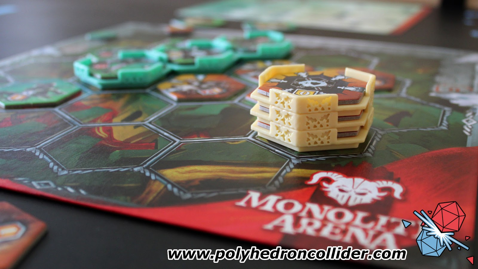 Monolith arena Portal Games board game review