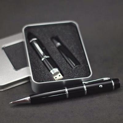 Jual Pen USB Flashdisk 8GB + Laser Pointer