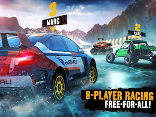 Break through to uncharted territory with Asphalt Xtreme Asphalt Xtreme v1.0.8a Mod Money Unlocked Apk + Data