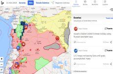 Liveuamap: noticias en tiempo real del ataque de Estados Unidos a Siria, en un mapa online interactivo
