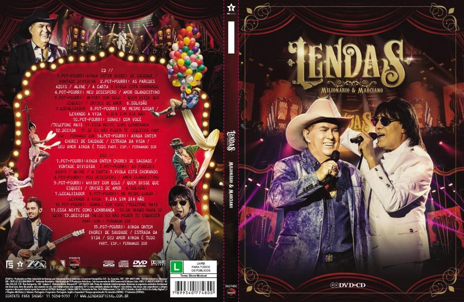 Milionário & Marciano Lendas DVDRip + DVD-R Milion 25C3 25A1rio 2B 2526 2BMarciano 2BLendas 2B2016 2B  2BXANDAODOWNLOAD