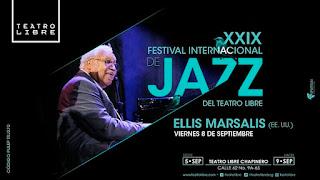 8 de septiembre Festival Internacional de Jazz del Teatro Libre 2017