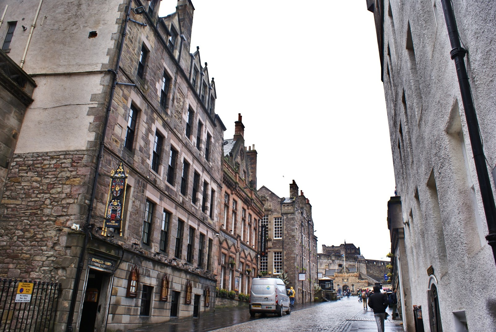 edinburgh scotland uk britain travel high street royal mile