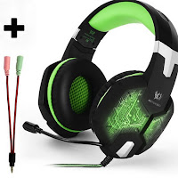Cascos gaming 3,5mm Stereo