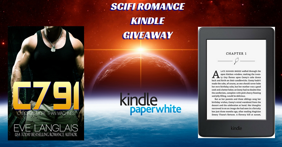 Kindle Paperwhite Ereader Giveaway with FREE Ebooks! #SciRom