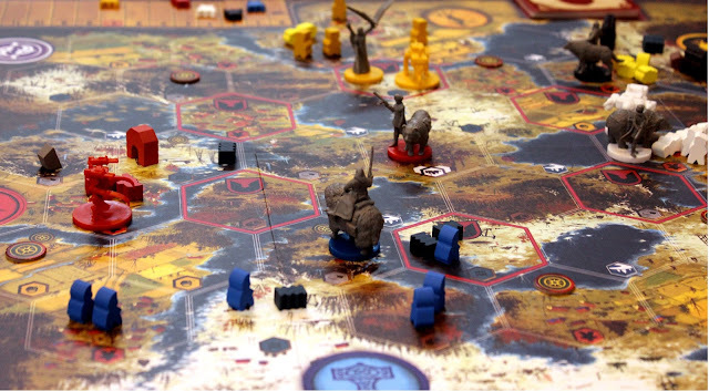 Scythe game board