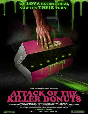 Attack of the Killer Donuts 2016 Hindi Dual Audio Web-Dl Full Movie Download