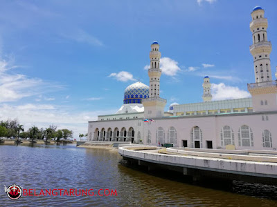 Masjid Terapung Likas Kota Kinabalu