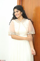 Megha Akash in beautiful Cream Transparent Anarkali Dress at Pre release function of Movie LIE ~ Celebrities Galleries 041.JPG