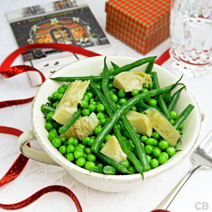 Recept Feestelijke groentemelange met artisjokken voor je kerstdiner