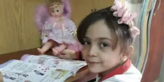 little girl of Aleppo