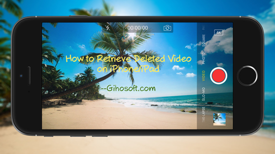 How To Think Deleted Videos On Iphone Or Ipad
