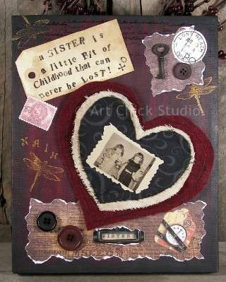 Valentine Birthday Canvas