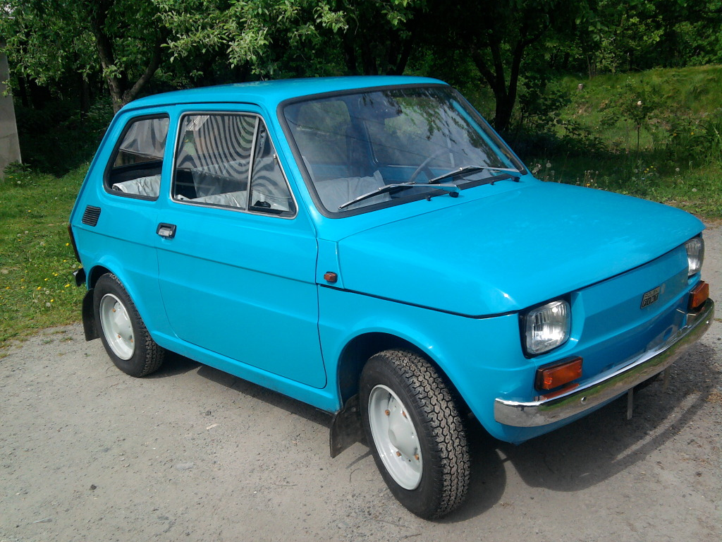 just a car geek 1982 polski fiat 126p with 82 miles yes. Black Bedroom Furniture Sets. Home Design Ideas