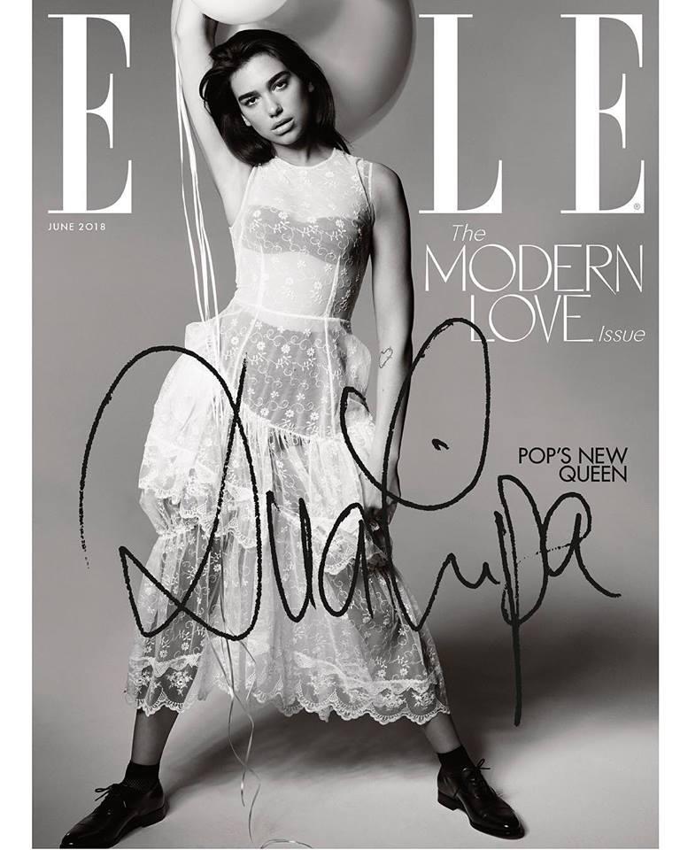 Dua Lipa for ELLE Magazine