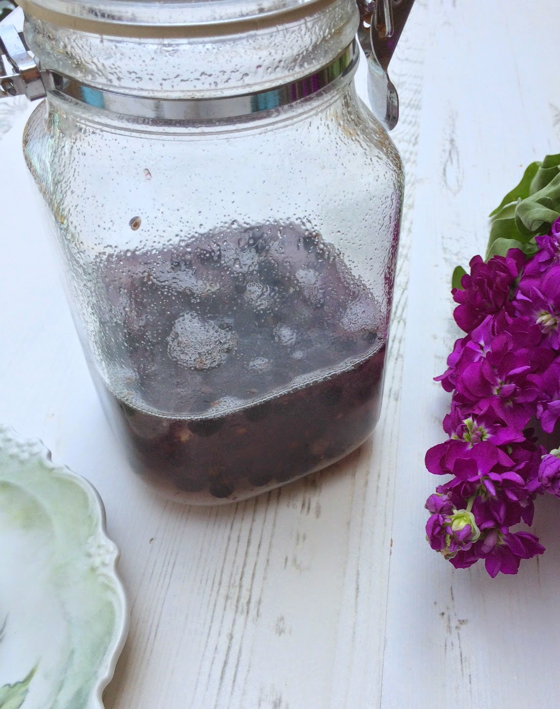 How to make Cassis with vodka