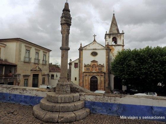 Iglesia de Santa María, Óbidos, Portugal
