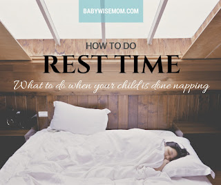 How to do rest time instead of naps