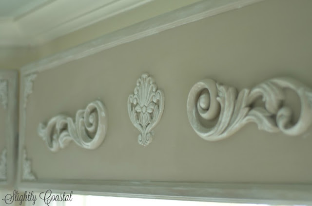 valance with appliques