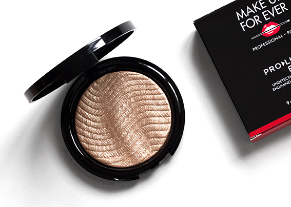 Make Up For Ever Pro Light Fusion Luminizer 02 Gold Review Photos