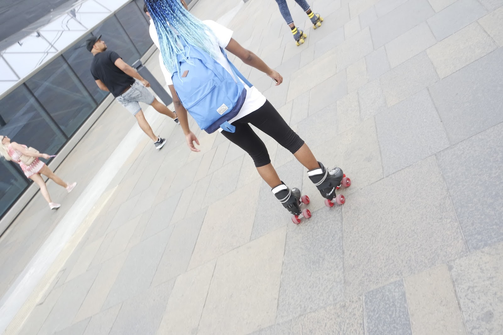 Tashika Bailey | Skating In Greenwich