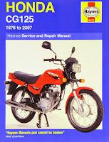 Honda CG 125 Blog Index Contents