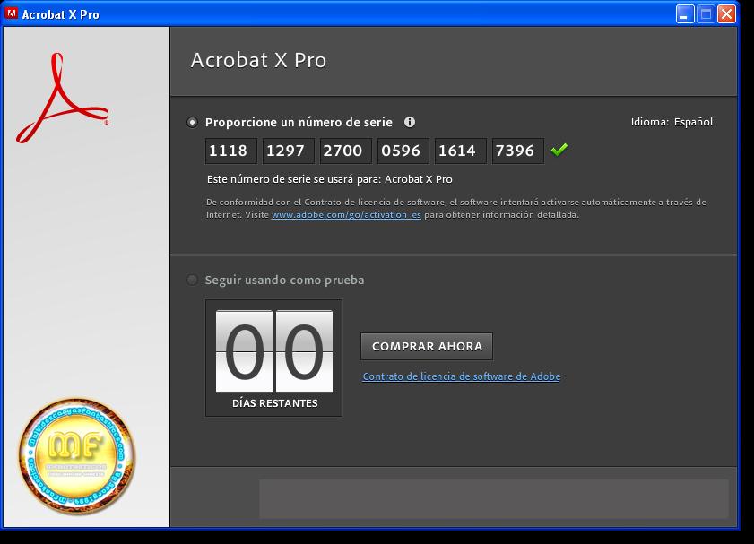 Adobe Acrobat X Pro Serial Key
