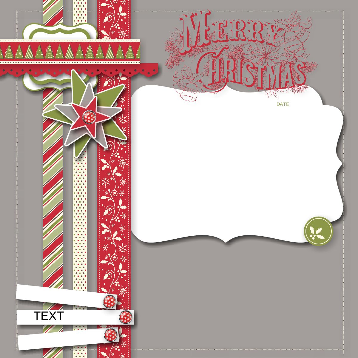 Carole's Corner of Crafts: MDS 092 Merry Christmas ...
